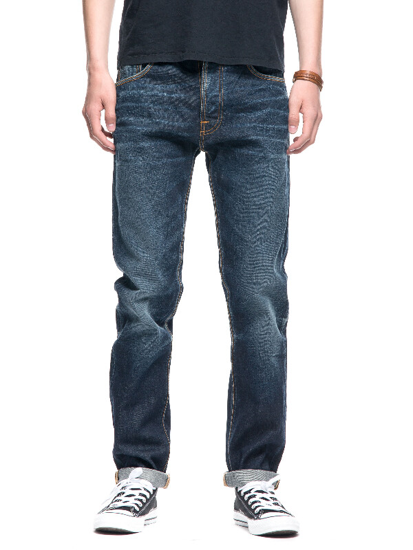 Fearless Freddie Indigo Shadow prewashed jeans