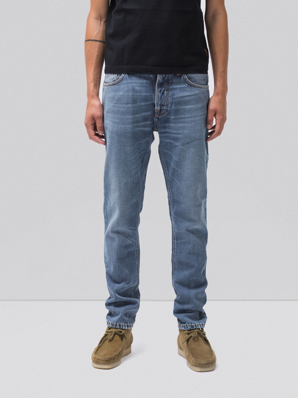 Fearless Freddie Mid Authentic prewashed jeans