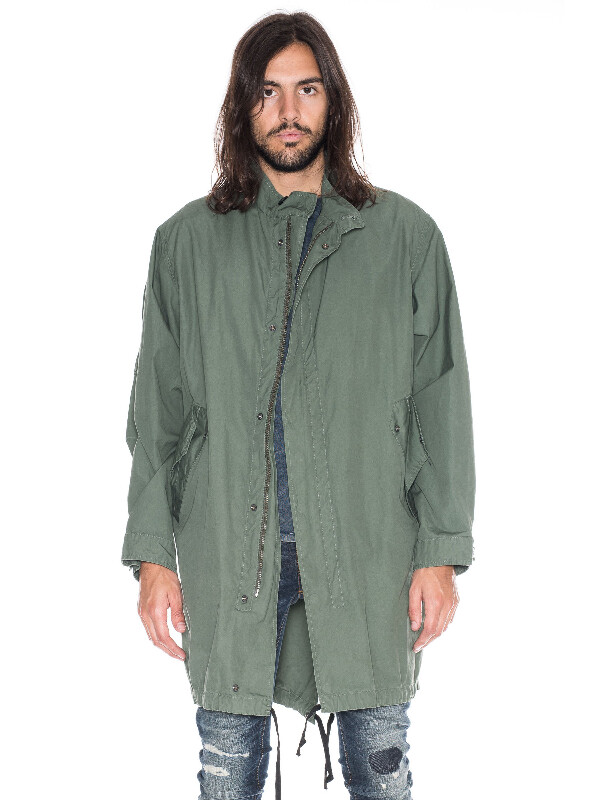 Folke Waxed Parka Mirage