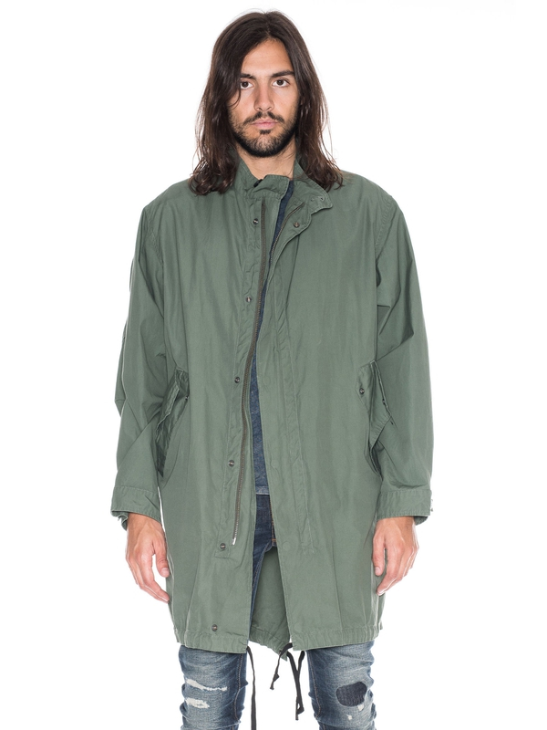 Folke Waxed Parka Mirage jackets