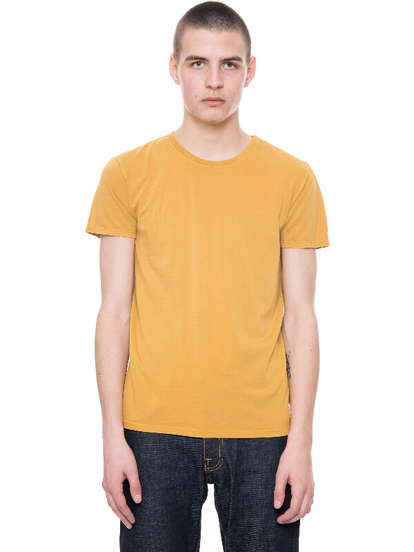 Glenn Tee Royal Yellow short-sleeved tees solid