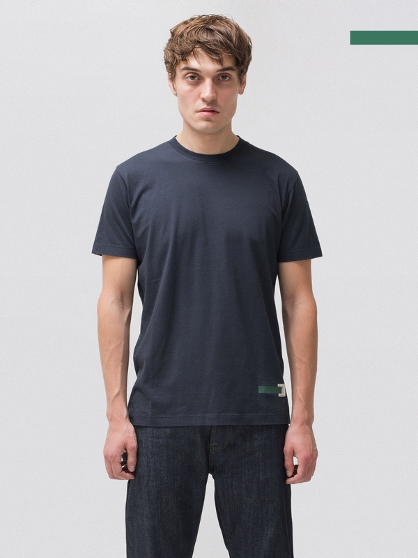 Daniel Green Tee Navy short-sleeved tees solid
