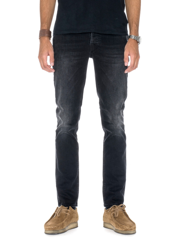 Grim Tim Black Fall prewashed jeans