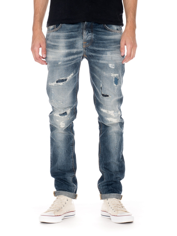 Grim Tim David Replica prewashed jeans