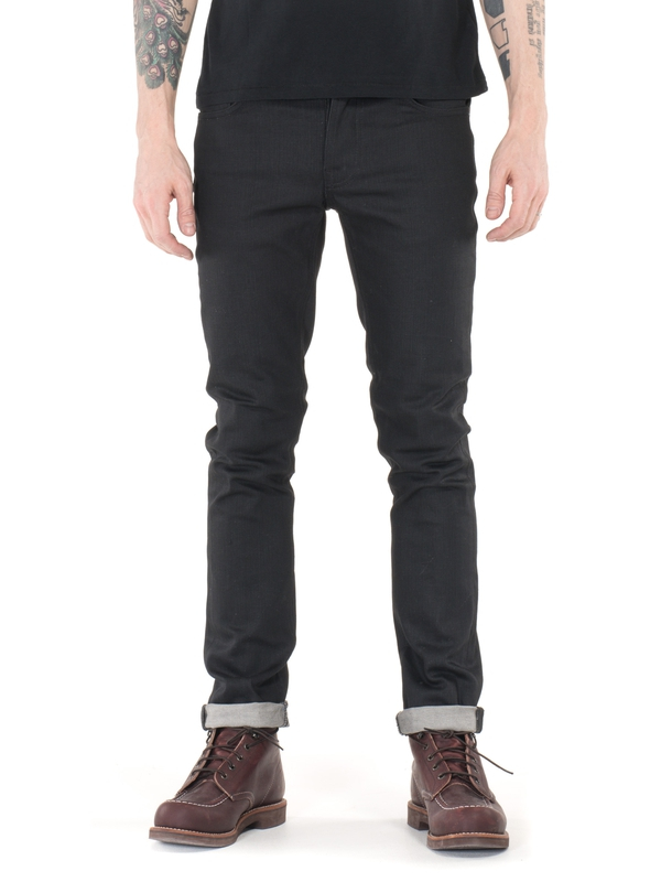 Grim Tim Dry Dark Mind dry black jeans