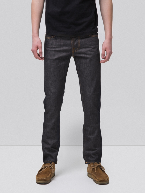 Grim Tim Dry Open Navy dry jeans