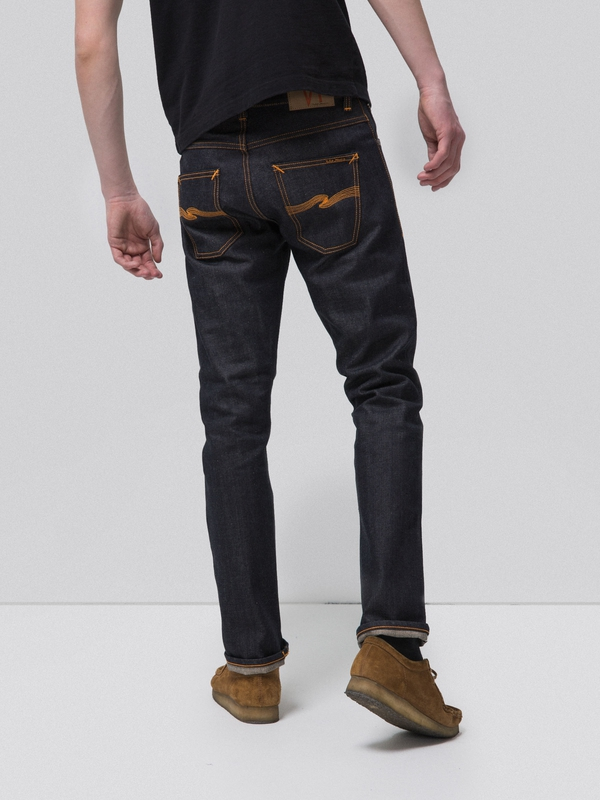 Grim Tim Slim-fit Organic Stretch-denim Jeans Nudie Jeans 5rKWcoGXv
