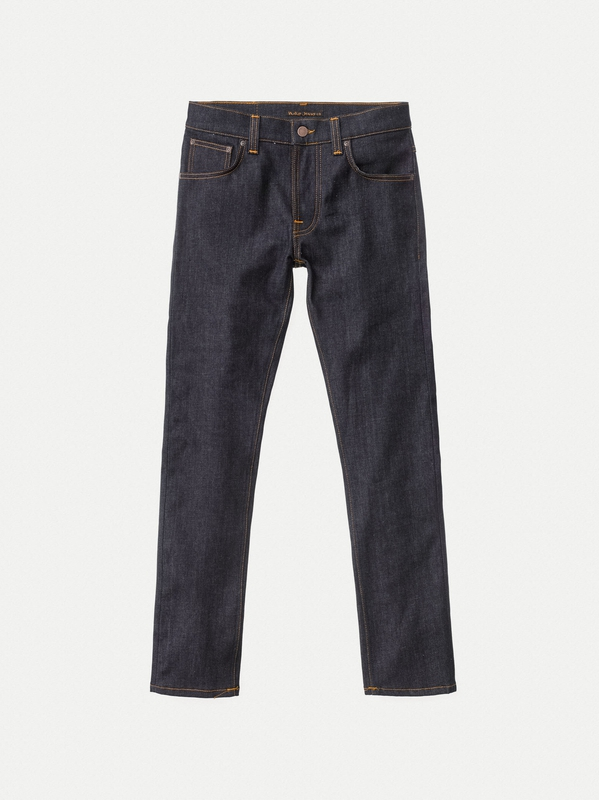 Grim Tim Dry True Navy dry jeans