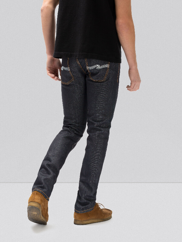 Grim Tim Dry Paper Denim Selvage dry jeans selvage