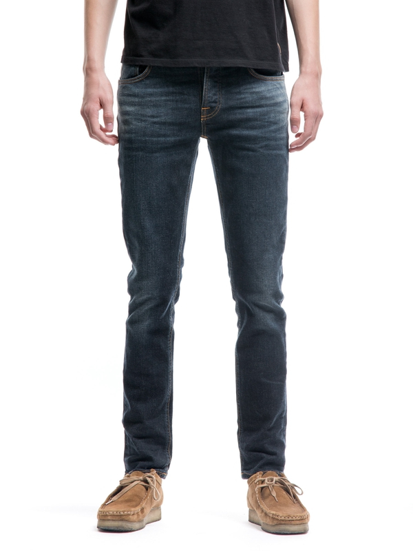 Grim Tim Endorsed Indigo prewashed jeans
