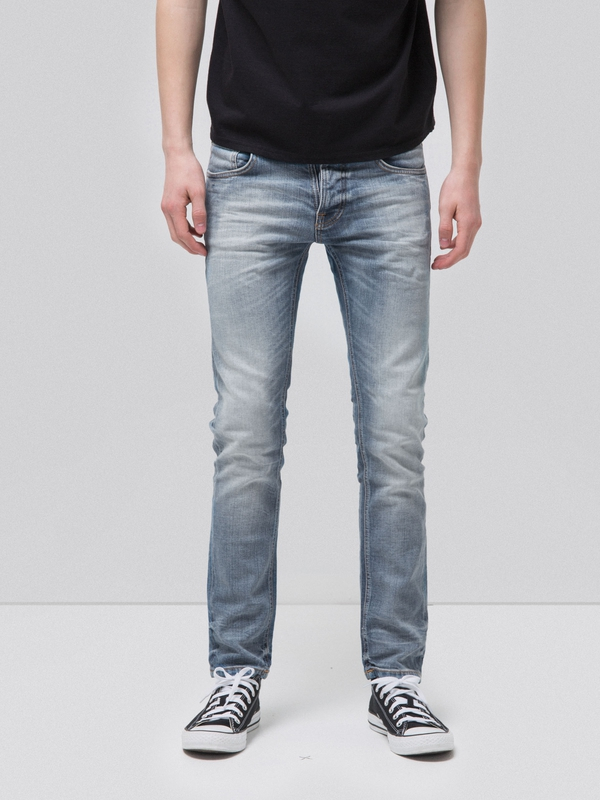 Grim Tim Faded Ash prewashed jeans