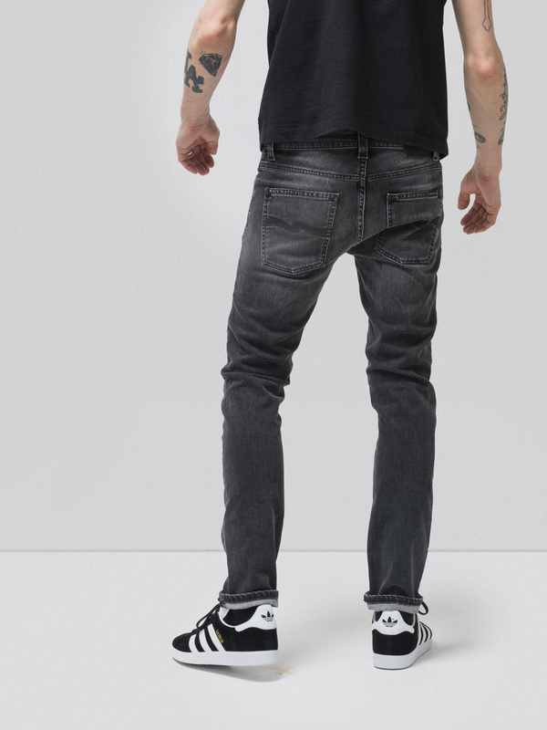 Grim Tim Grey Authentic prewashed jeans