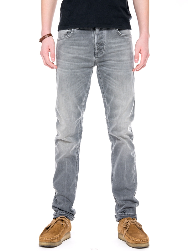 Grim Tim Grey Wave prewashed jeans