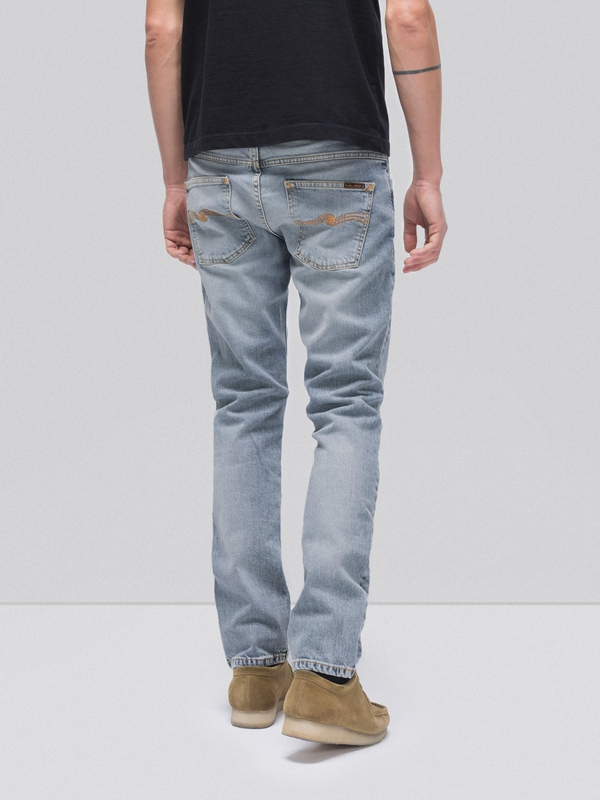 Grim Tim Light Blue Comfort prewashed jeans