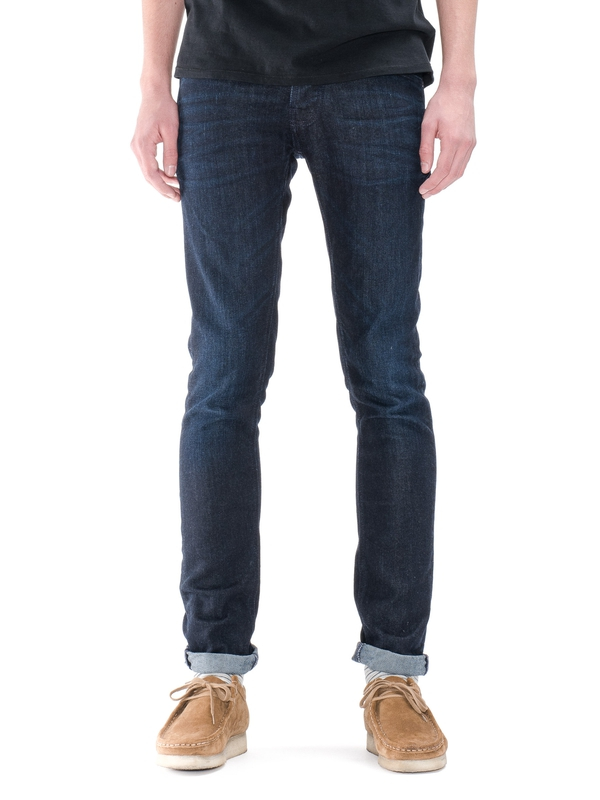 Grim Tim Navy Thunder prewashed jeans