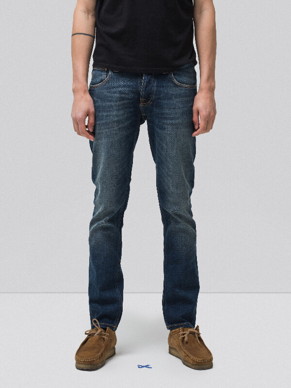 Grim Tim Revelation Blue prewashed jeans