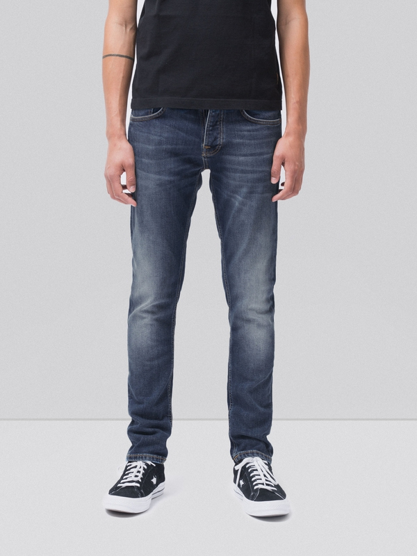 Grim Tim Sentimental Blue prewashed jeans