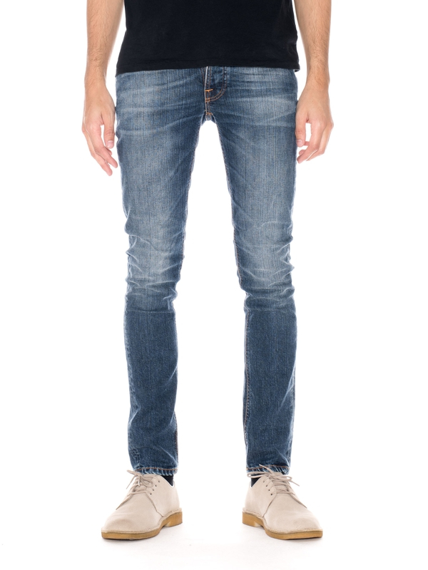 Grim Tim Shaded Blue prewashed jeans
