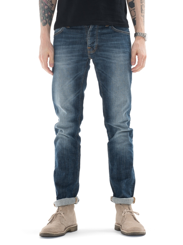 Grim Tim Bright Dawn prewashed jeans