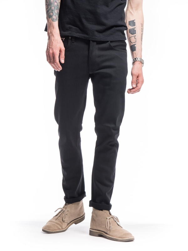 Grim Tim Dry Black Selvage black selvage