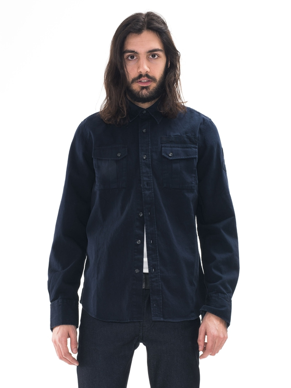 Gunnar Patches Navy shirts