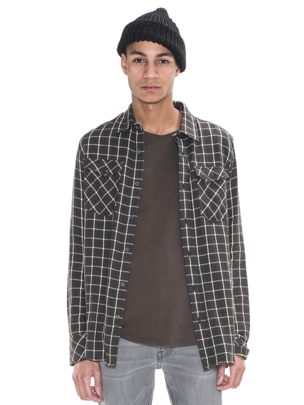Gunnar Rope Twill Check Bunker shirts
