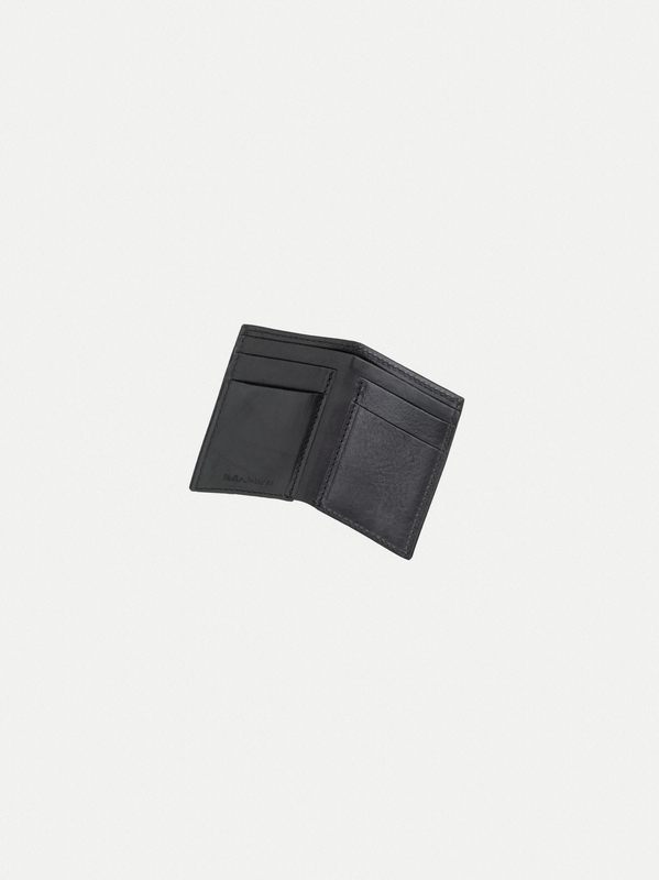 Hagdahl Wallet Saddle Leather Black