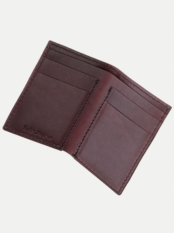 Hagdahl Wallet Saddle Leather Fig