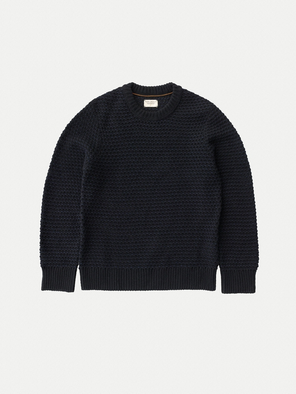 Hampus Basket Knit Black