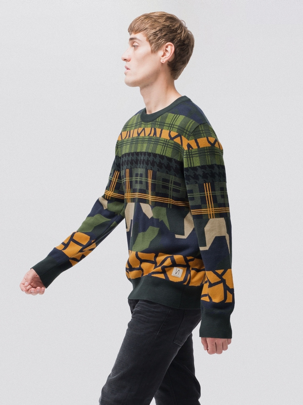 Hampus Mixed Pattern knits
