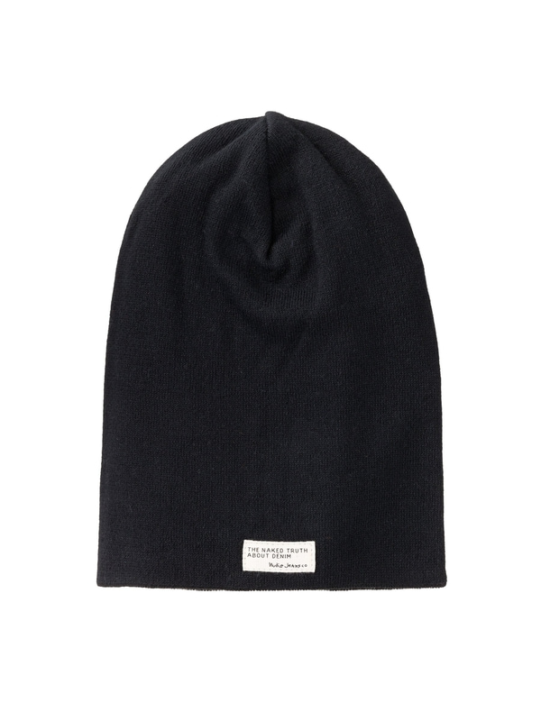 Hannesson Beanie Rib Black hats accessories