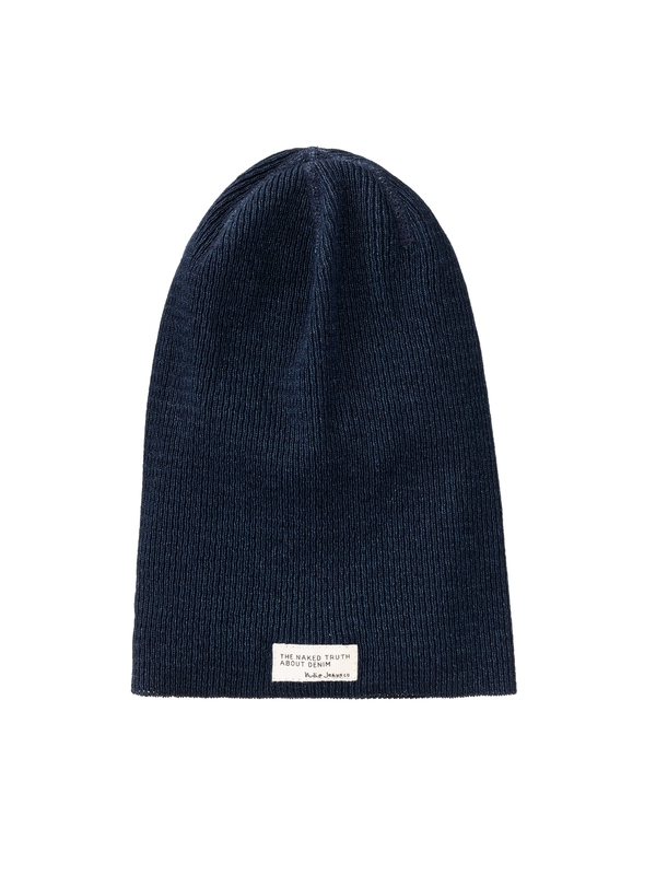 Hannesson Beanie Rib Indigo hats accessories