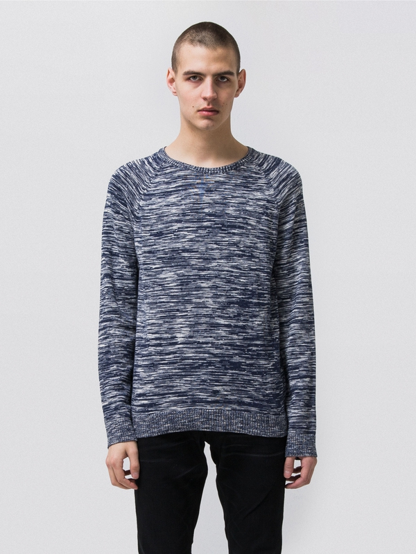 Hans Noise Navy knits