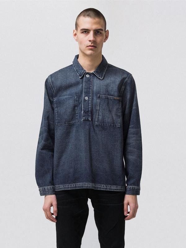 Harry Naval Shirt Denim long-sleeved-denim shirts