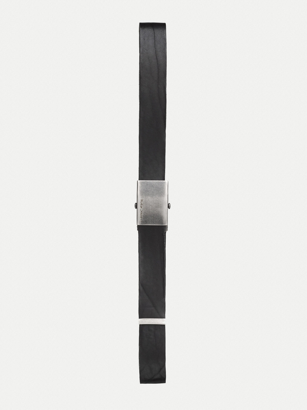 Harrysson Scout Belt Leather Black accessories belts