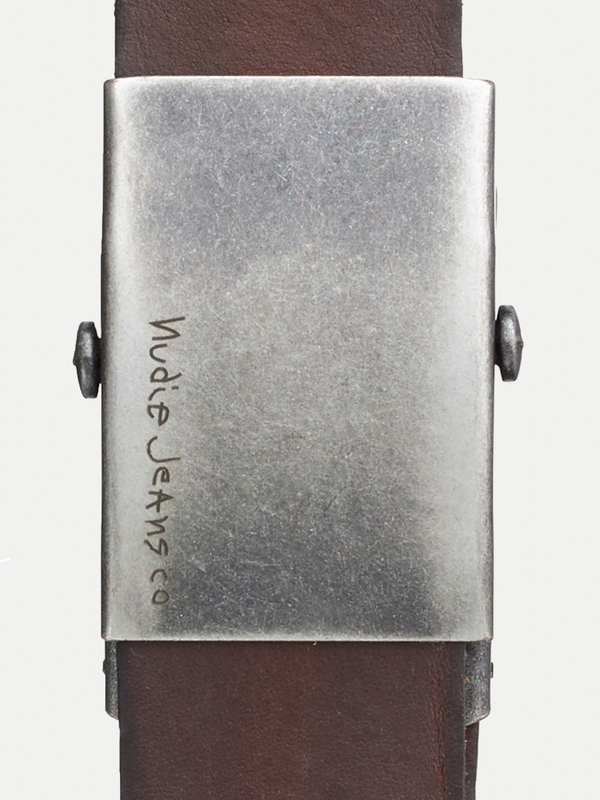Harrysson Scout Belt Leather Brown