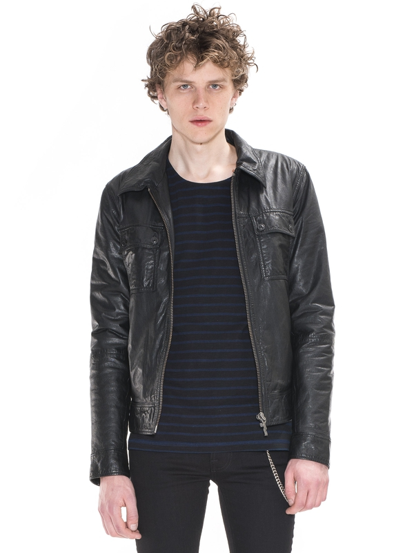 Heath Leather Jacket Black jackets leather-jacket