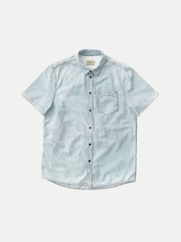 Henrik Light Shade short-sleeved shirts