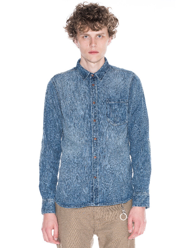 Henry Authentic Wash Denim shirts