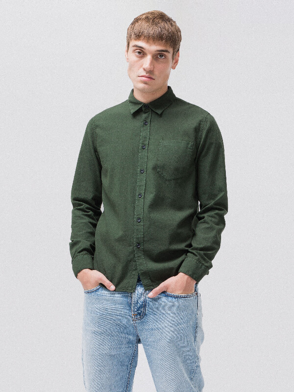 Henry Batiste Garment Dye Ivy long-sleeved shirts