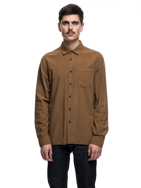 Henry Batiste Garment Dyed Lion long-sleeved shirts