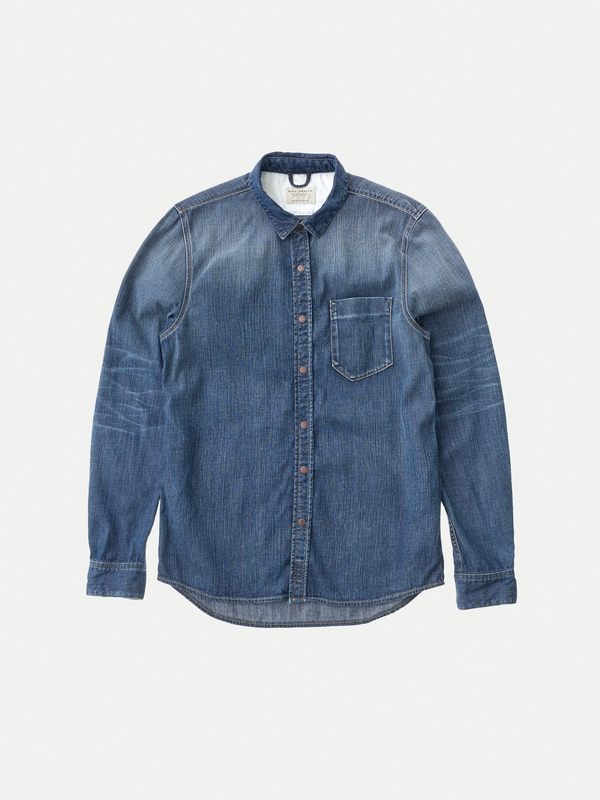 Henry Blue Soul Denim long-sleeved shirts denim