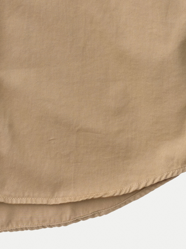 Henry Pigment Dyed Beige