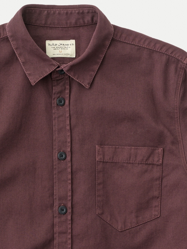 Henry Pigment Dyed Plum