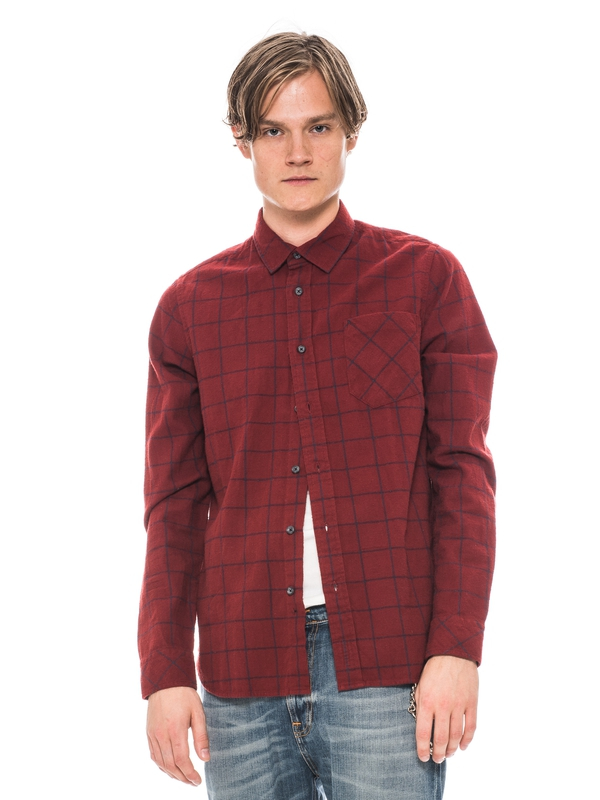 Henry Flanell Check Red shirts