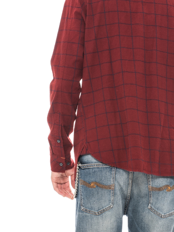 Henry Flanell Check Red