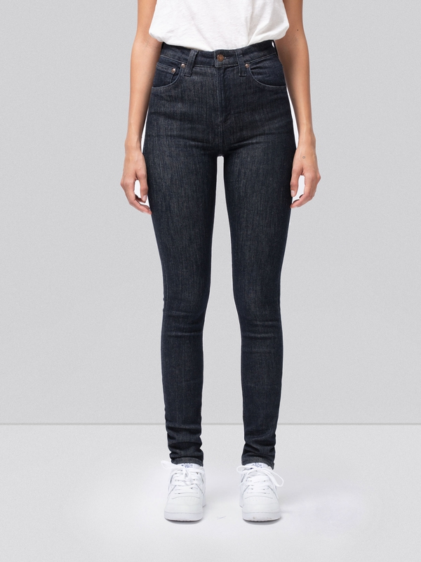 Hightop Tilde Dark Navy prewashed jeans