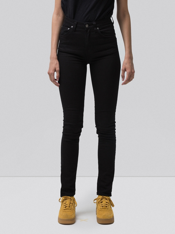 Hightop Tilde Raven Black black jeans