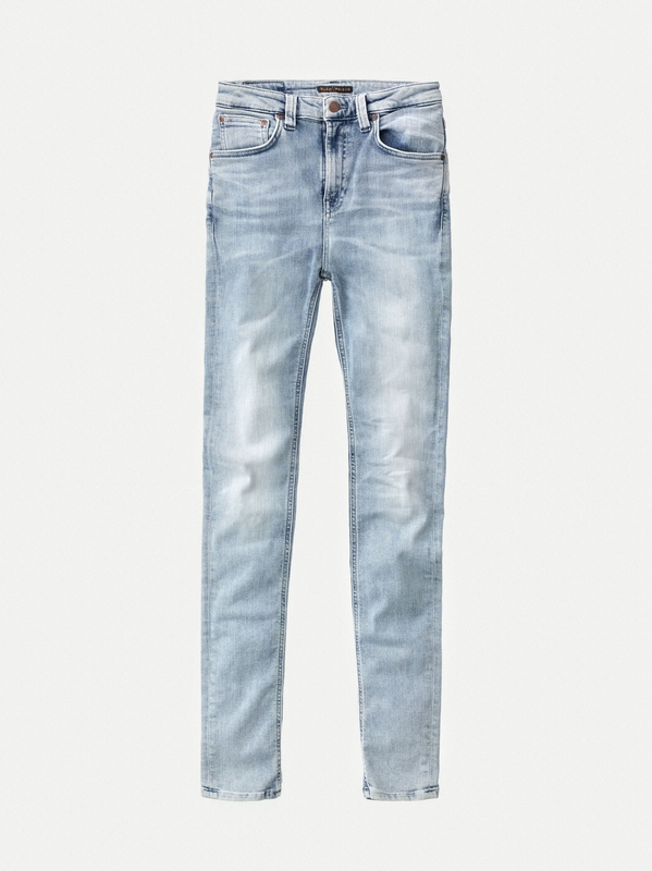 Hightop Tilde Tonal Bleach prewashed jeans