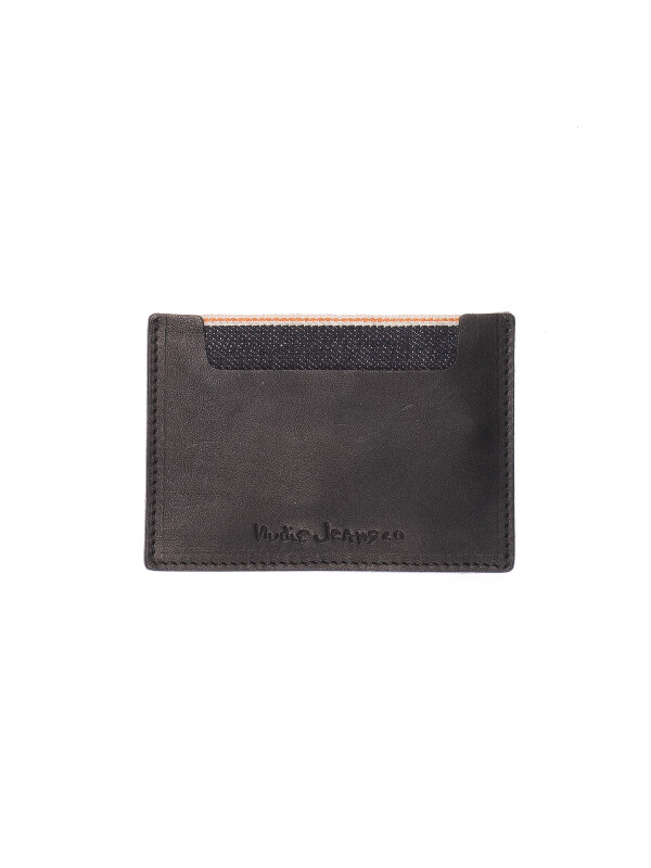 Ivansson Selvage & Leather Black wallets selvage